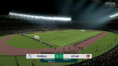 Ormeño venció al Atlas de Acosta 2-1 y sigue de líder, aunque sufrió y al final casi lo amargan con el empate.