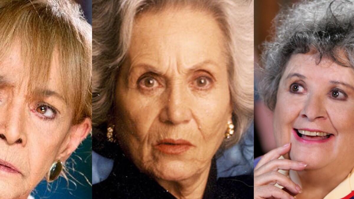 Abuelas Maduras te acuerdas de las grandes primeras actrices de las
