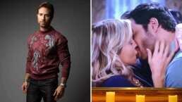 Esta fue la reacción de Sebastián Rulli al ver el apasionado beso entre Angelique Boyer y Andrés Palacios