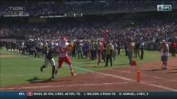 Travis Kelce anota el tercer touchdown de Chiefs