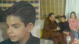 Eugenio Derbez sabía desde niño que quería actuar; lo dijo en esta entrevista a sus 12 años