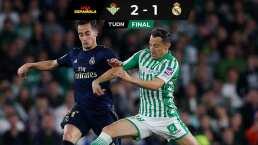 Con asistencia de Andrés Guardado, el Betis vence al Real Madrid