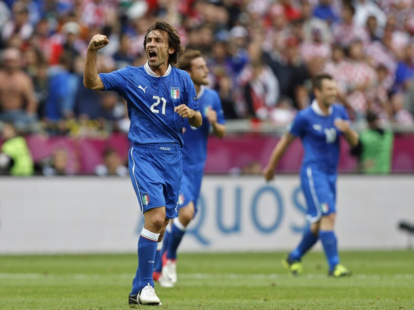 APTOPIX Soccer Euro 2012 Italy Croatia