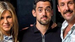 Luis Gerardo Méndez, dividido entre Jennifer Aniston y Adam Sandler