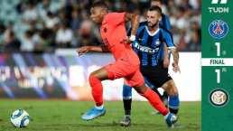 Sin Neymar ni Icardi, el Inter vence en penaltis al PSG