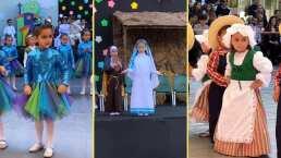 ¡Alerta ternura!: Así se vivió el festival escolar de las hijas de Jacky Bracamontes