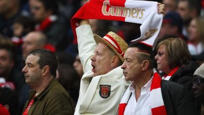 John Lydon, más conocido como 'Johnny Rotten', vocalista de los Sex Pistols es fanático desde niño de los Gunners del Arsenal.