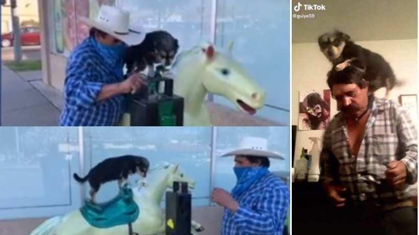 Guaaaaaw: El dueño de Chiquilina ya abrió TikTok para subir videos bailando con ella   Canal 5   Canal 5