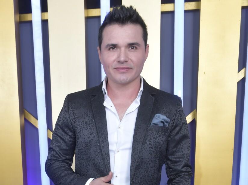 Horacio Palencia en la Alfombra Morada