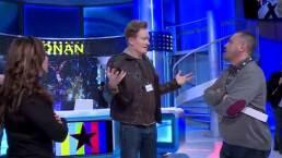 Conan O'Brien visita Televisa