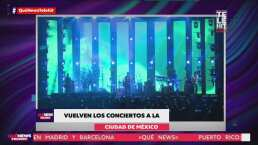 Vuelven los conciertos a la Ciudad de México