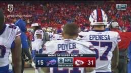 Los Chiefs aumentaron la ventaja en el tercer cuarto sobre Bills