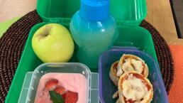 Lunch para el regreso a clases 1: Rollos de jamón y queso