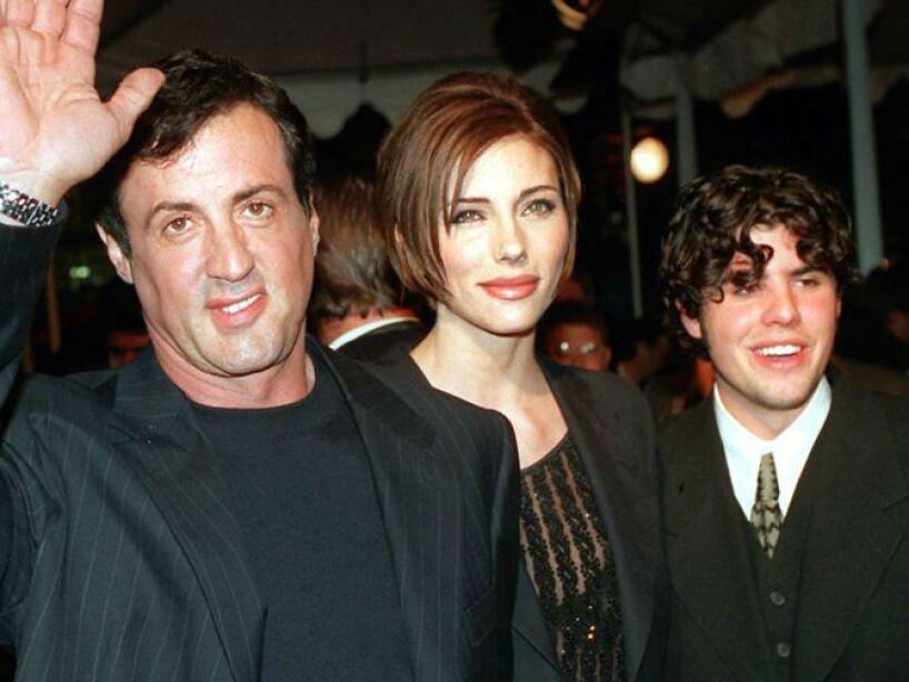 8. Sylvester Stallone: Su hijo se llama Moonblood. Sí, algo así como luna sangrienta (en una traducción libre).