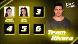Ellas son las primeras semifinalistas del Team Rivera