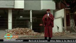 ¡Vecinos padecen inundación a raíz del sismo!