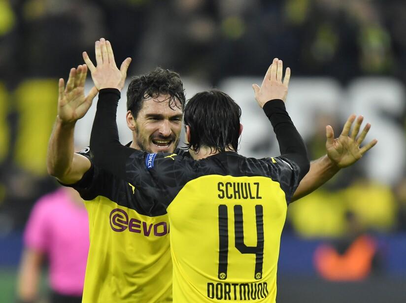 Borussia Dortmund 3-2Inter; Olympique de Lyon 3-1 Benfica; Valencia 4-1 Lille.