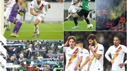 Federico Fazio anota gol y autogol pero finalmente Marcus Thuram le dio al victoria al Borussia.