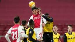 Ajax reconoce gran posesión de balón de Edson Álvarez