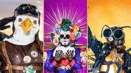 La catrina, el águila y el bisonte son algunos de los 16 personajes que participarán en ¿Quién es la máscara?
