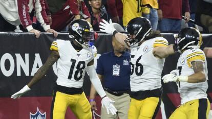 Devlin Hodges tiene juego discreto pero la defensiva de Steelers se luce y se colocan con marca de 8-5.