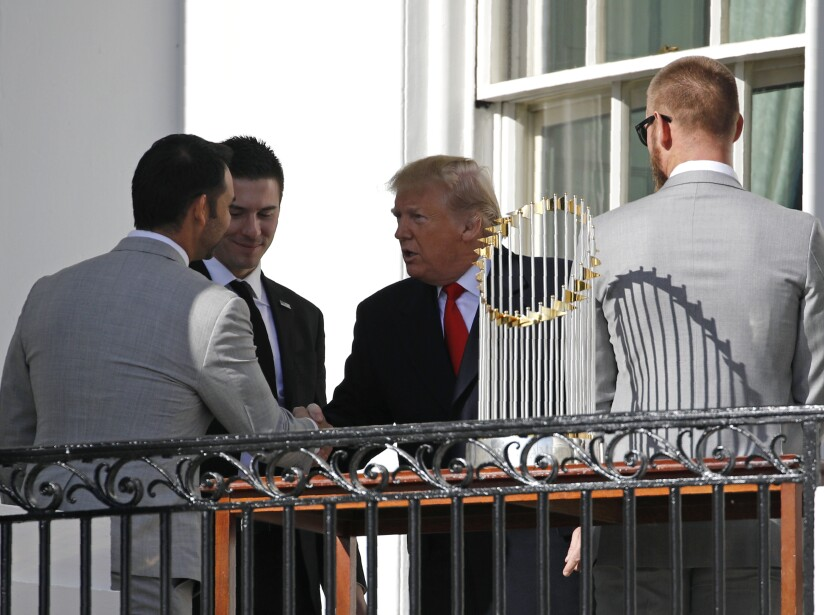 Anibal Sanchez, Donald Trump, Patrick Corbin, Stephen Strasburg