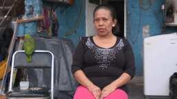Albertano apoya a Leticia Morales, una mujer que lucha por construir el patrimonio de sus hijos