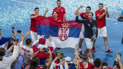 En un partido muy emocionante, Serbia se lleva la ATP Cup después de que Kjokovic y Troicki vencieran a los españoles Pablo Carreño y Feliciano Lopez por 6-3 6-4.
