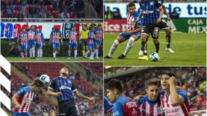 Chivas sufrió en los minutos finales pero logró sacar la victoria 3-2 ante Querétaro.