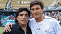 """El 'Pupi' Zanetti describe a Maradona: """"Era pasión pura"""""""