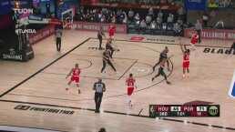¡Ida y vuelta! Nadie cesa en el juego entre Rockets y Blazers