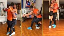"""Ex Miss Colombia conmueve bailando al ritmo de merengue con su hermano: """"Poniéndole swing a la vida"""""""