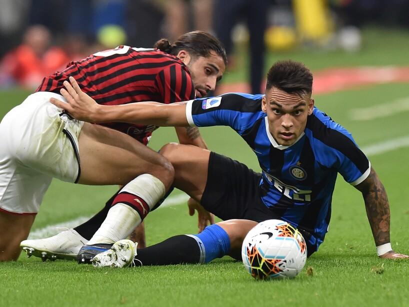 Inter vence a Milan en San Siro 2-0