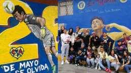 Dedican murales a Moy y Edson en Iztacalco y Tlalnepantla