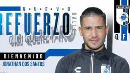 Jonathan Dos Santos se suma al ataque de Gallos Blancos