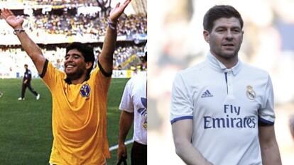 No jugaron para estos clubes, pero se abre la incógnita de cómo se habrían visto y cómo le habría ido a Maradona, Messi, Xabi Alonso, entre otros, usando la camiseta del acérrimo rival.