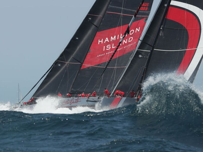 2019 Sydney to Hobart: Start