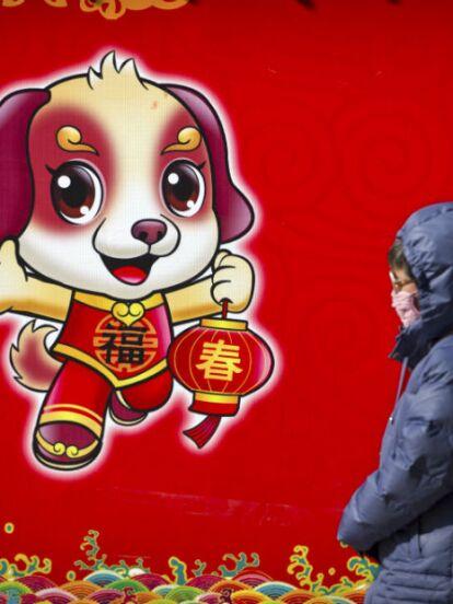 Hoy inicia el Año Nuevo Lunar que corresponde al signo zodiacal chino del Perro de Tierra y así se vivió en China con sus tradiciones