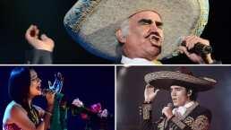 Vicente Fernández quiere juntar el talento de Ángela Aguilar y Alex Fernández