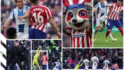 Atlético de Madrid 3-1 al Espanyol, con goles de Correa, Morata y Koke; Darder abrió el marcador. Héctor Herrera jugó los 90 minutos.