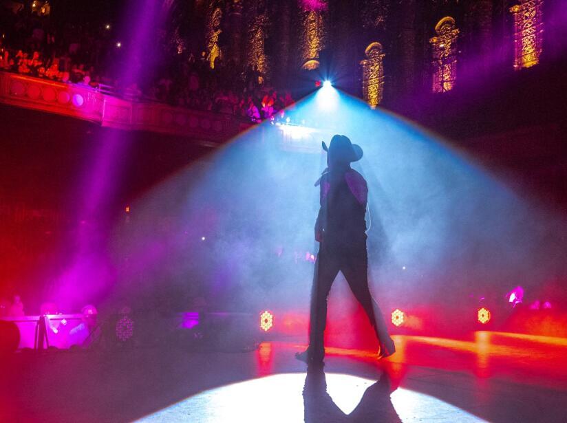 Christian Nodal conquista a Nueva York con concierto