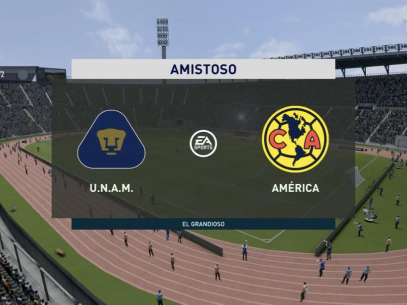 Pumas vs América, eLiga MX, 5.png