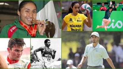 Los héroes mexicanos del deporte que brillaron poco pese a los éxitos obtenidos.