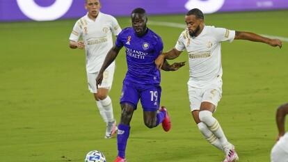 Atlanta rescató el empate ante Orlando en la MLS | Al final del partido apareció Jahn para igualar el cotejo; 'Cubo' y Damm tuvieron actividad.