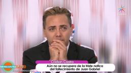 Cristian Castro, en depresión por la muerte de Juan Gabriel