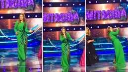 Consuelo Duval saca los pasos prohibidos de Nacaranda al cantar éxito de Los Ángeles Azules