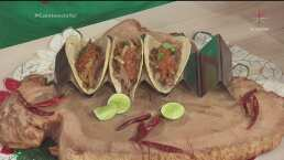 RECETA: Tacos de pavo con salsa campechana