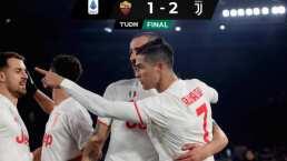 La Juventus vence a la Roma y recupera la punta en Italia