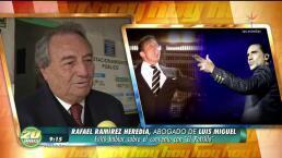 Afinan detalles del arreglo entre Luis Miguel y el Potrillo