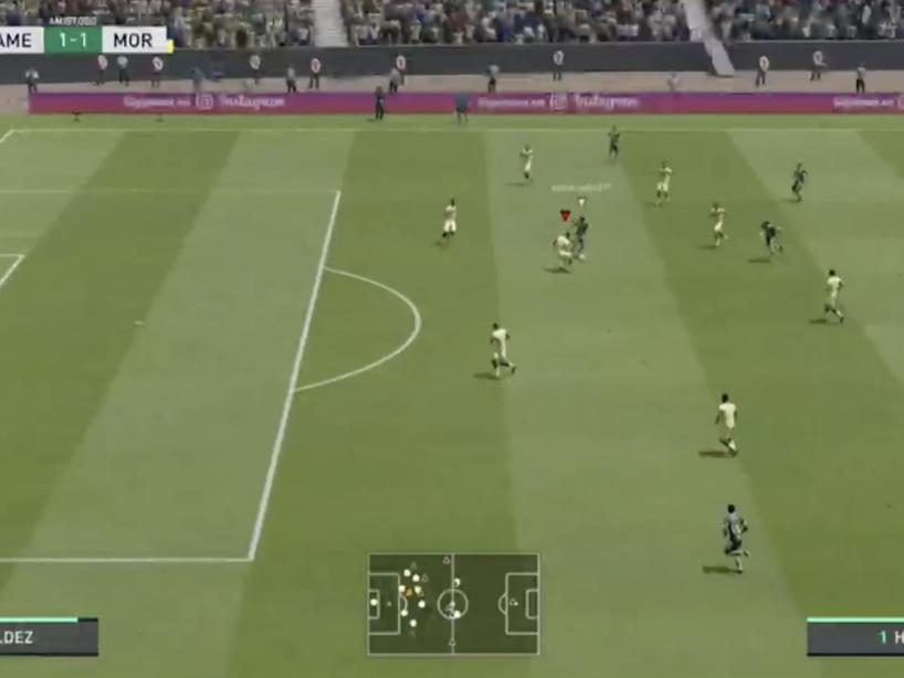 eLiga MX, Morelia vs América, 8.png